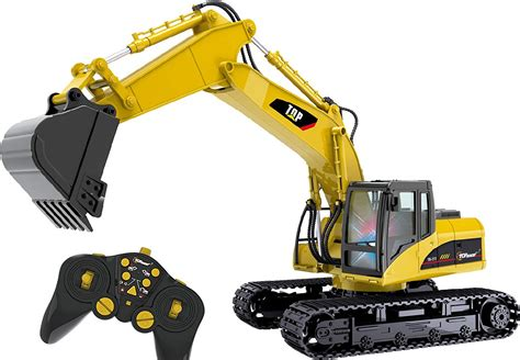 Harga Rc Excavator Metal 15 channel rc excavator heavy duty metal remote