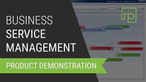 hp business service management bsm overview youtube