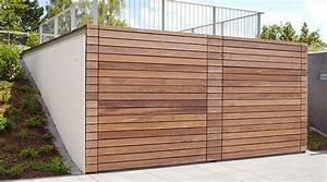 Garage Aus Holz Selber Bauen : garage aus holz holzgarage schuppen garage skanholz ~ Michelbontemps.com Haus und Dekorationen