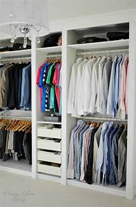 Ikea Pax System : our diy dressing room hacked ikea pax wardrobe classy glam living ~ Buech-reservation.com Haus und Dekorationen