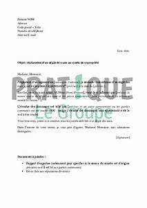 Lettre Declaration Sinistre : modele lettre assurance degat des eaux ~ Gottalentnigeria.com Avis de Voitures