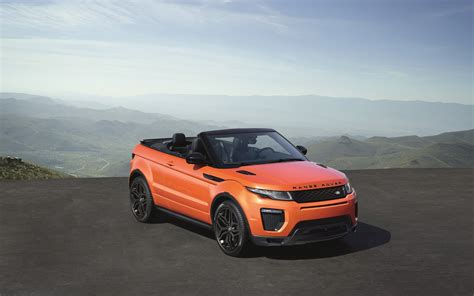 land rover range rover evoque convertible  wallpaper