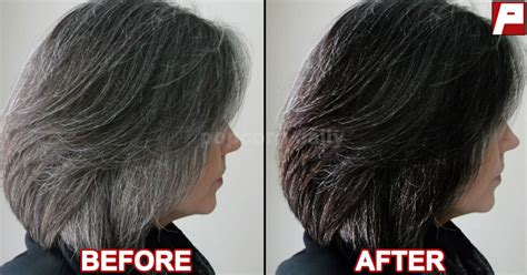 Hair Turning Naturally by Turn Your Grey Hair Back Into Black With Just These