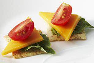 canapé au fromage canapés aux tomates et au fromage kraft canada