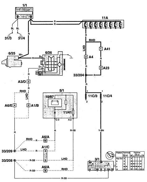 1990 volvo 760 charging system wiring diagram 45 wiring