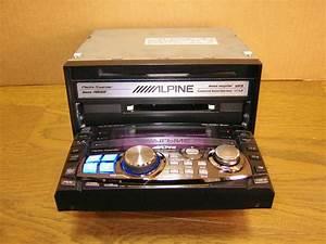 Alpine Mda-w966j - Double Din In-dash Cd Md Mp3