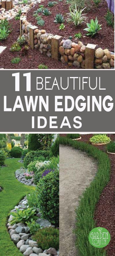 beautiful lawn edging ideas firepit ideas garden
