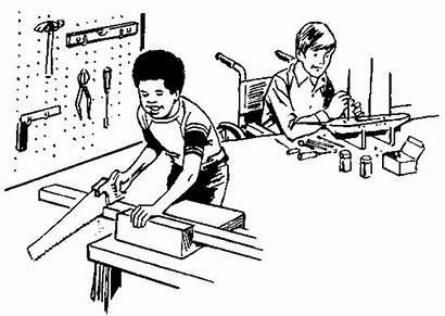 Clip Clipart Wood Working Workshop Carpenter Woodworking