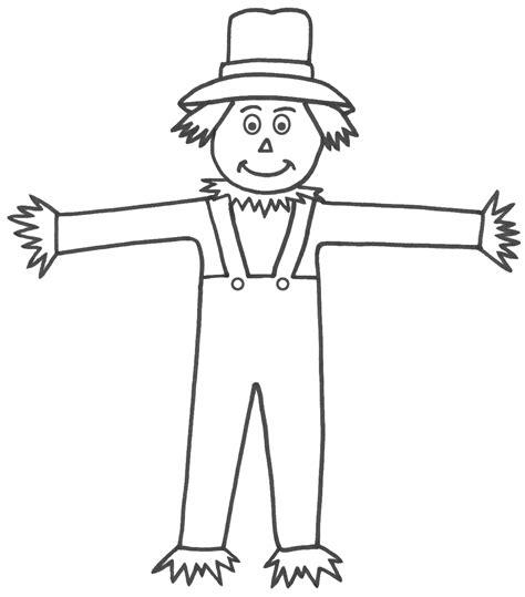 scarecrow clothes template