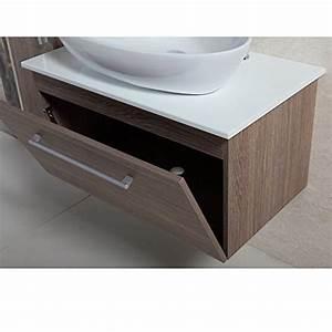 Waschtischunterschrank Mit Aufsatzwaschbecken : 4 tlg badm bel set badezimmerm bel komplettset 80 cm waschtischunterschrank mit ~ Indierocktalk.com Haus und Dekorationen