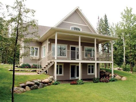 Bungalow Walkout Basement House Plans At Front 9889