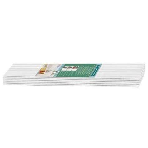 Vinyl Wainscoting Panels Home Depot by Veranda Veranda 3 Ft X 7 1 4 In X 1 4 In Vinyl
