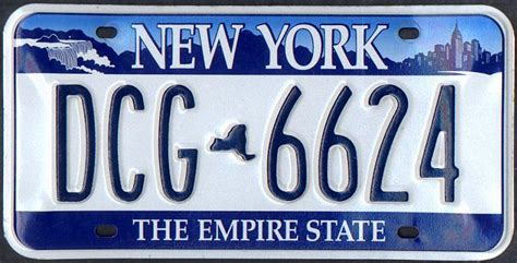Vanity Plates Ny by States Using Digital Replicas Of Embossed License Plate Fonts