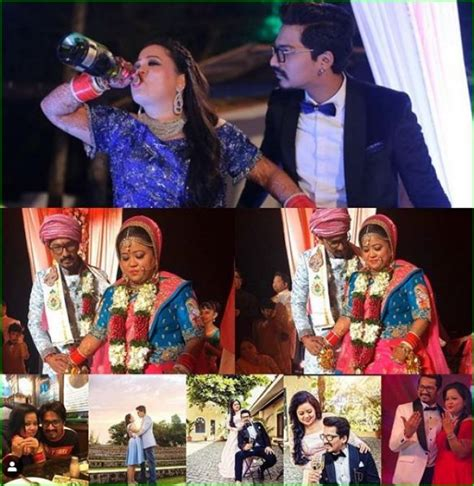 Bharti Singh and Harsh celebrated two years of marriage ...