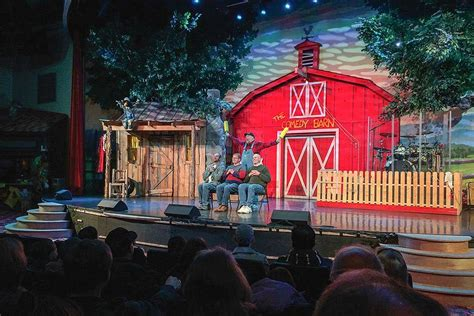 Laughing Comedy Barn - see what you are missing in the smoky mountains