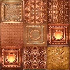 17 best ideas about copper ceiling on pinterest copper With best brand of paint for kitchen cabinets with pressed metal wall art