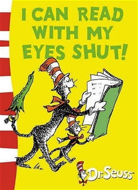 read   eyes shut  dr seuss