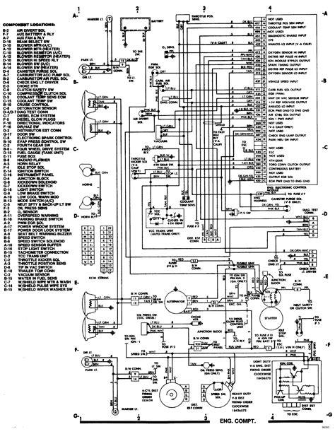 1985 S10 Wiring Diagram by Wrg 5168 85 Chevrolet S10 Wiring Diagram