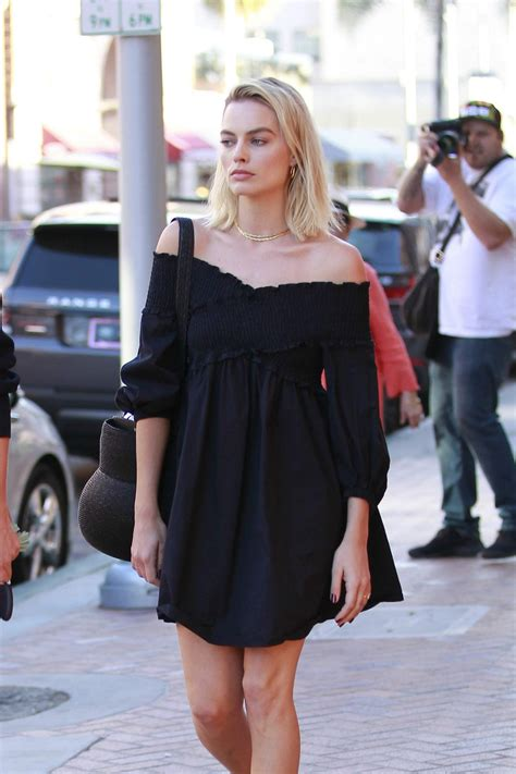 Margot Robbie Out In Los Angeles 02022018 Hawtcelebs