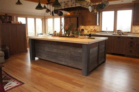 hand crafted rustic kitchen island  atlas stringed instruments custommadecom