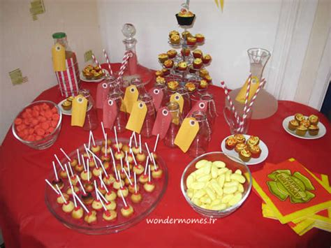 10 id 233 es de d 233 co sweet table pour anniversaire