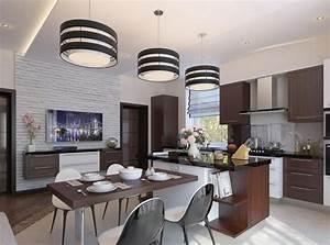 Salle a manger moderne 6 tendances 2015 16 a essayer for Deco cuisine avec salle a manger en bois moderne