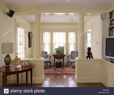 English American Country Home Interiors, Jamaica Plain, United Stock Photo, Royalty Free Image