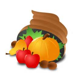free thanksgiving cornucopia clip
