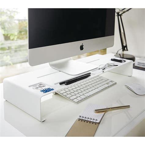 rehausseur de bureau réhausseur d écran organiseur de bureau monitor stand