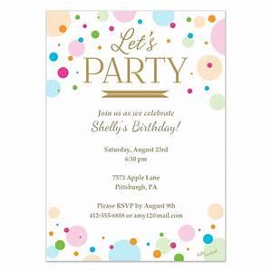 Invitation Card Designs For Party Infoinvitation co