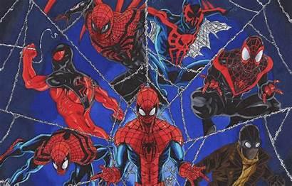 Spider Scarlet Ben Reilly Kaine Spiderman Wallpapers