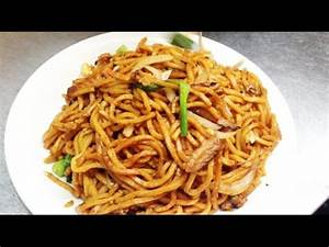 Chinese Stir Fried Vegetable Lo Mein Noodles Recipe 青菜炒麵 ...