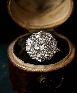 Lovely antique engagement rings at erie basin in brooklyn for Antique diamond wedding ring