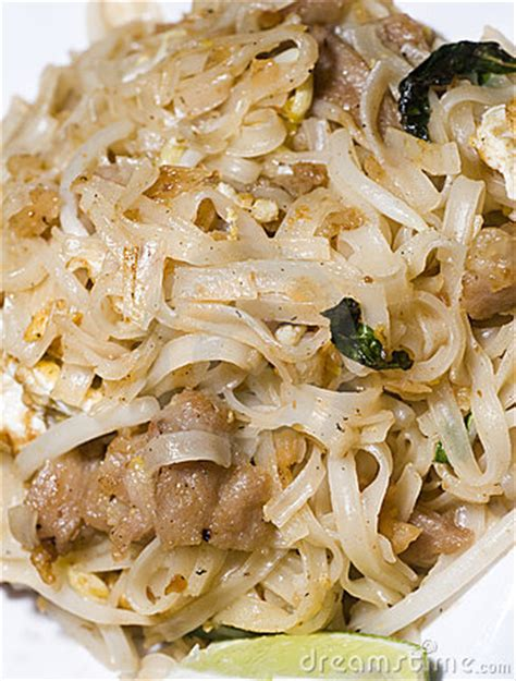 pai cuisine pai rice noodles food royalty free stock photography