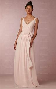 designer light pink long bridesmaid dress bnnde0000 With pink long dress for wedding