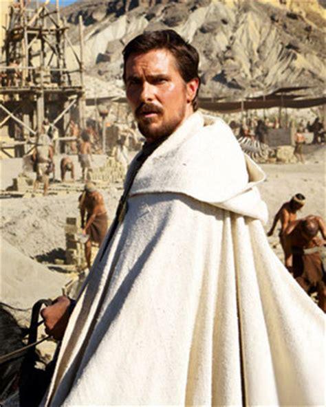 Photo Christian Bale Moses Exodus Geektyrant