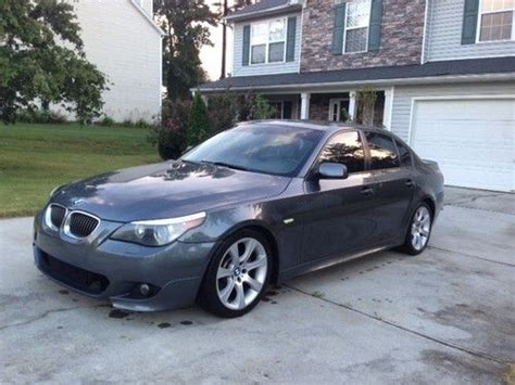 Purchase Used 2004 Bmw 545i Mpackage Smg Transmission 4