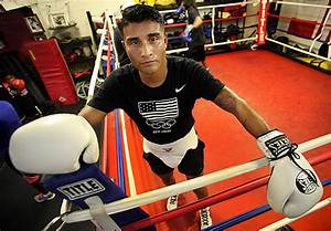 Amateur Boxer One Fight Into Long Road