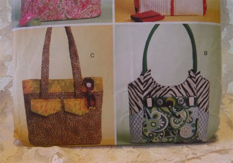 Butterick Sewing Pattern 5367, Tote Bag, Uncut Sewing