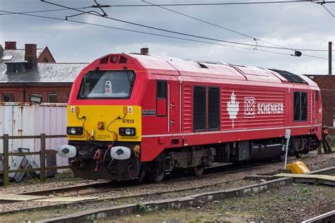 Class 67 Engine 67018 Am 09.04.2016 In Newcastle Upon Tyne