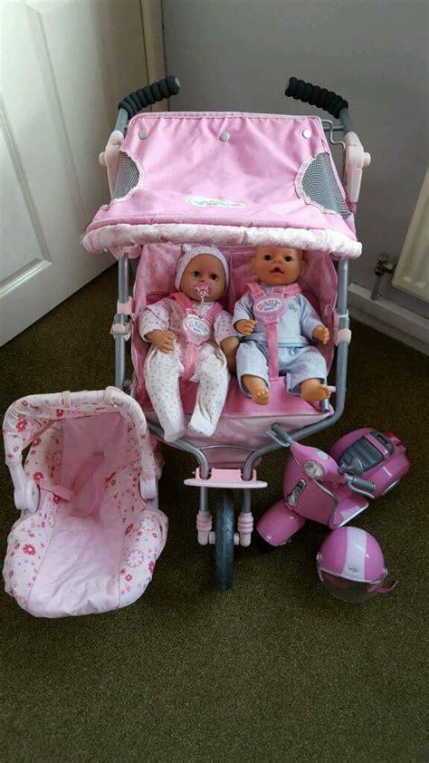baby born dolls pram comfort seat scooter