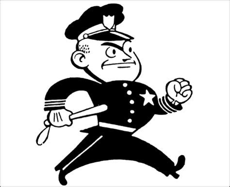 policeman with gun clipart black and white officer clipart black and white clipart panda
