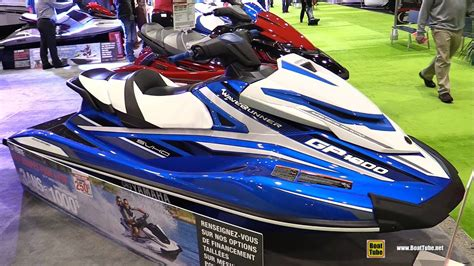 Jet Boat Vs Jet Ski by 2017 Yamaha Gp 1800 Jet Ski Walkaround 2017 Montreal