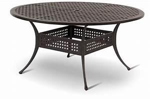 Gartenmöbel Tisch Rund : hartman ess tisch 150cm rund palermo bronze alu guss art jardin ~ Indierocktalk.com Haus und Dekorationen