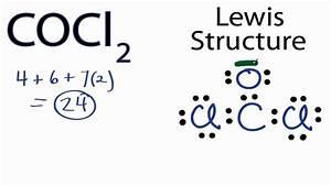 Cocl2 Lewis Structure