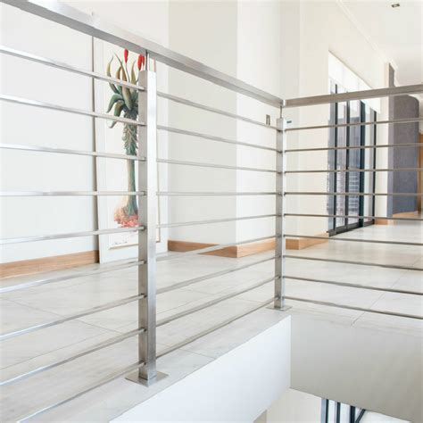 indoor balcony stainless steel railing