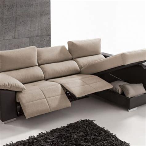 chaise longue relax sofa 3 plazas relax con chaise longue y arcón
