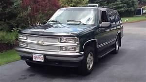 1995 Chevy Tahoe Lt 4x4 V8 5 7l K1500 Suv Truck