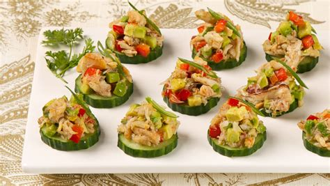 simple canapes best hors d oeuvres episodes best recipes