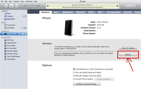 restore iphone from itunes 2 solutions to restore iphone to factory resetting